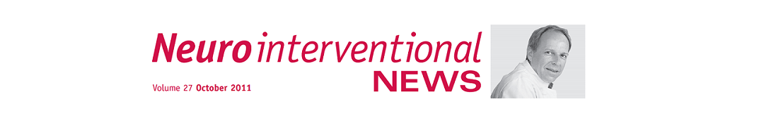 Neurointerventional NEWS – Volume 27 – October 2011