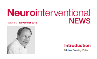 Neurointerventional NEWS – Volume 31 – November 2016